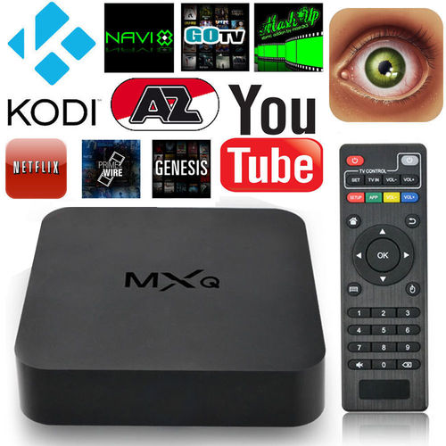 W-Lan KODI Smart TV Box XBMC Mini Amlogic Quad Core 1.5 GHz MXQ 8GB ROM 1GB RAM