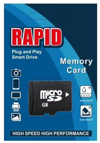 Rapid 32GB Micro SD Card Class 10  SDHC Karte inkl.Adapter