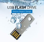 16GB USB Stick MINI Key Metall Chrome