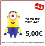 Sonderaktion  4GB USB Stick Minion Stuart